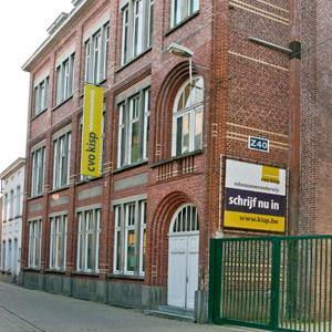 Informatie over de campus Eeklo - Volwassenenonderwijs Kisp: https://www.kisp.be/vestigingen/eeklo